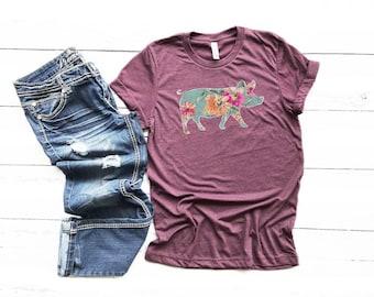 f8920be15 Pig Shirt // Farm Shirt // Fair Shirt // Farm Girl // Fair Life // Gifts  for Her // 4-H Shirt // Ranch Life // Farm Life // Cute Pig Shirt