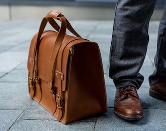 Men's Leather Weekender Bag, Weekend Bag, Cabin Luggage, Carry Lite, Laptop Bag, Travel Overnight bag, Daytripper, Handbag, Men's Fashion