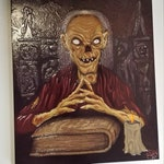 "Crypt Keeper portrait 6""x8"""