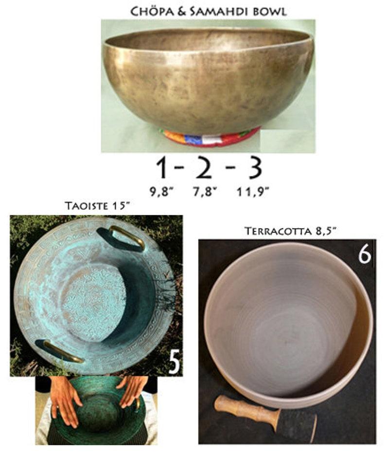 e97e832825 Bols Tibétain de 20 à 30cm  Bol Taoiste 39cm   Ultra rare Bol