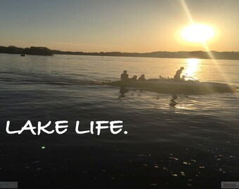 Lake Life : Photograph / Digital Download / Easy to Print