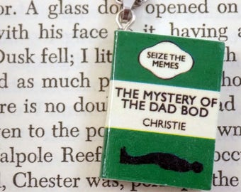 The Mystery of the Dad Bod - Book Pendant