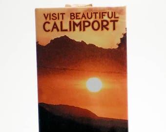 Visit Beautiful Calimport - Rectangular Travel Poster Magnet