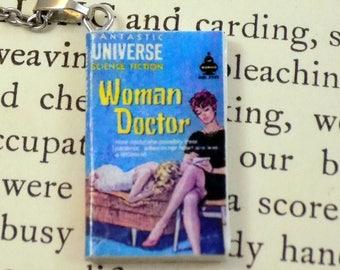 Woman Doctor - Book Pendant
