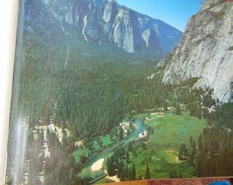 Above Yosemite , 1990 , Robert Cameron , Harold Gillam . Large Coffee Table Book