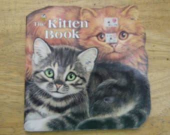 Kitten Book , 1968 , Jan Pfloog , Golden Book