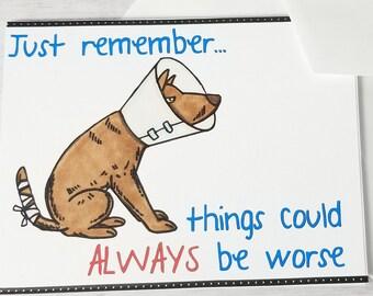 Cheer Up Card Etsy