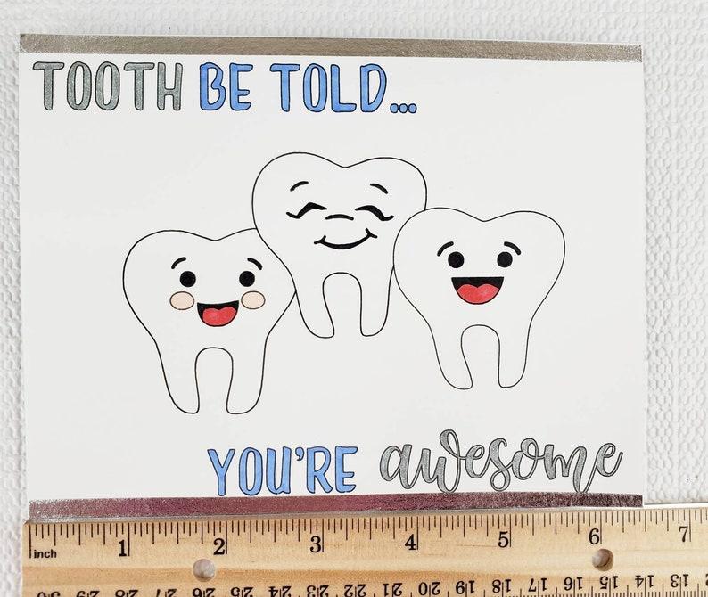 dentist dentist card dentist gift thank you cards thank  etsy