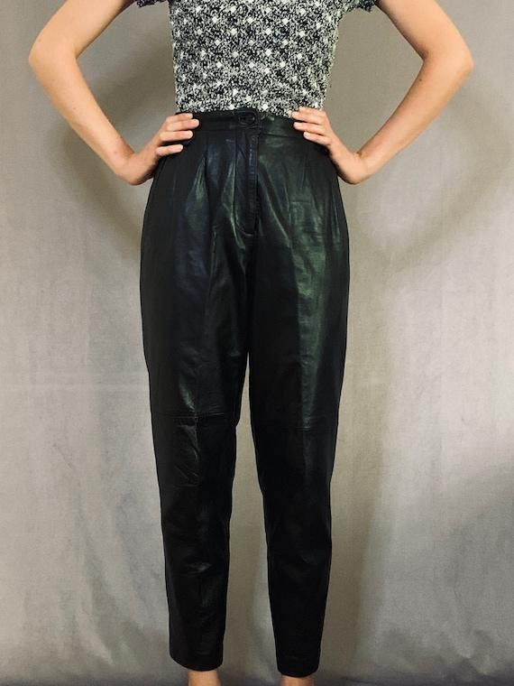 80s Leather Pants M