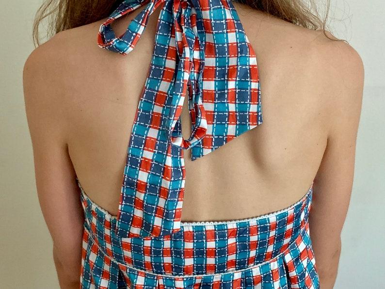 Y2K LaROK Halter Dress M