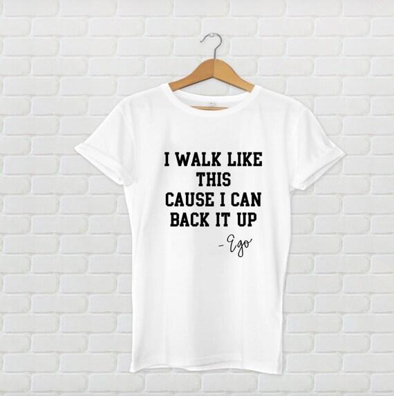 Ego T Shirt Unisex Music Lyrics Songs Quotes Pop Music Etsy