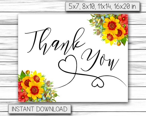 Greeting Cards Friendship Cards Thank You Card Printable Etsy
