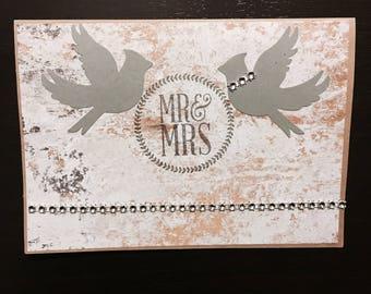 Wedding cards, wedding day, handmade card