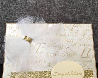 Wedding cards, big day, handmade cards