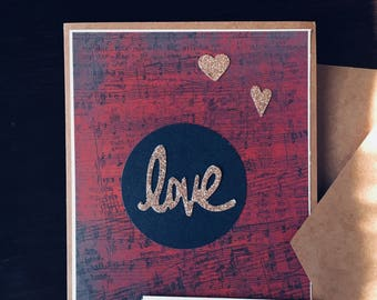 Happy Valentine's Day cards, Love cards,handmade,
