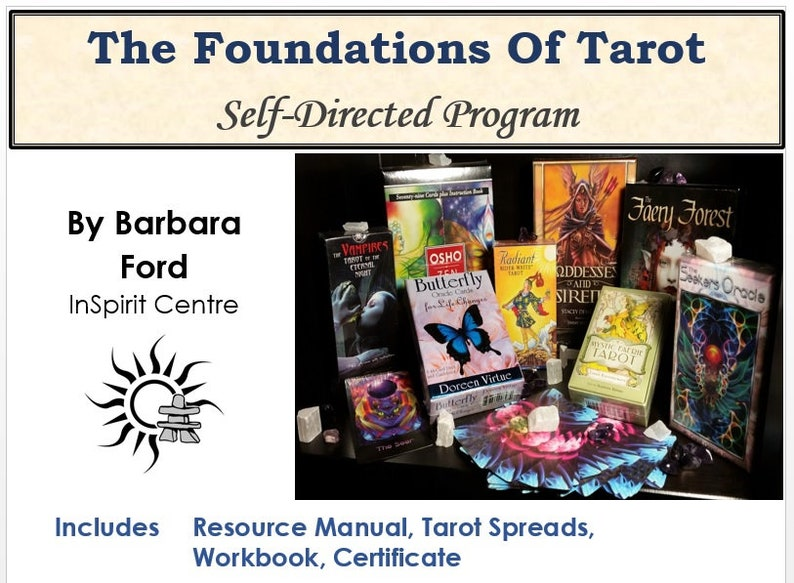 The Foundations Of Tarot Self-Directed Program image 0