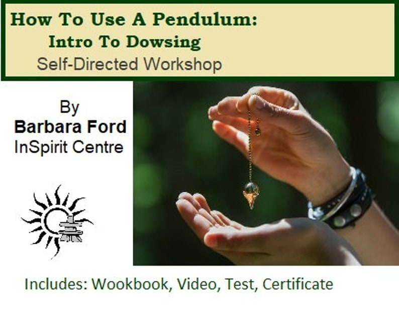 How To Use A Pendulum: Intro To Dowsing Self-Directed Course image 0