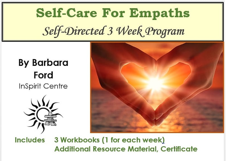 Self-Care For Empaths Self-Directed 3 Week Program with image 0