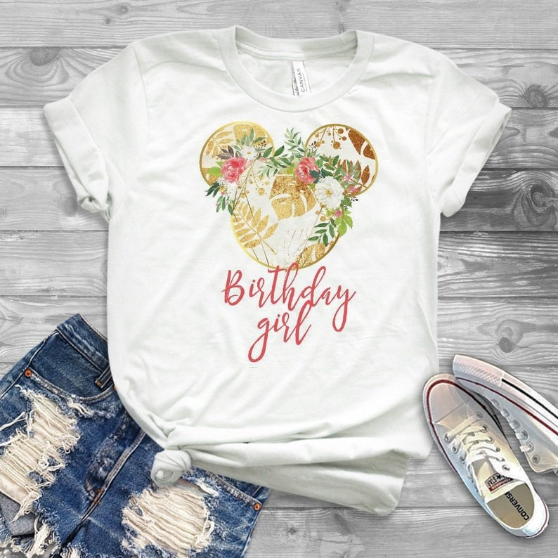 Disney Birthday Shirt For Teens 21st