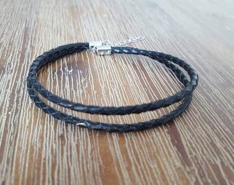 Mini Leather Men's Bracelet