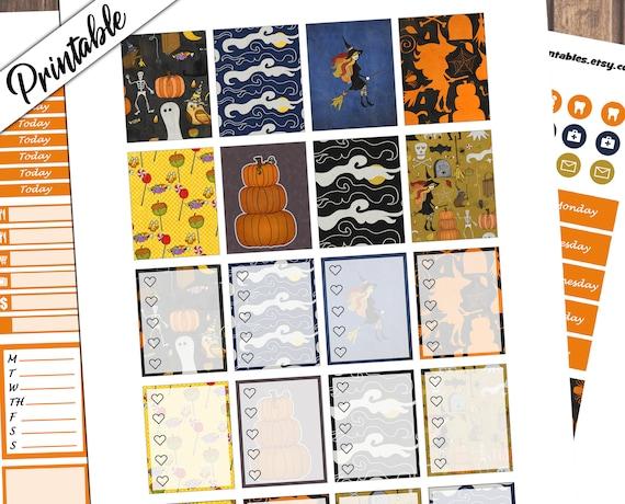 Halloween Party Weekly Kit Wicked Weekly Kit Printable Etsy