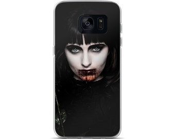 Vampire Samsung Phone Case - Bloody love at first bite