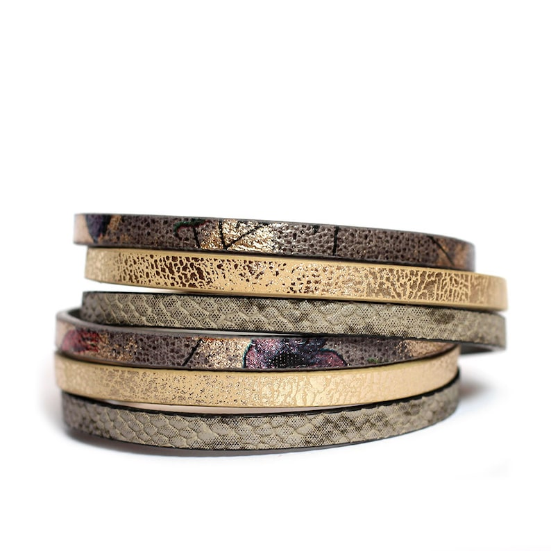 colorful multi strand bracelet set gift for daughter Bracelet set for women Mom jewelry wrap faux leather bracelet and jadeite bracelet