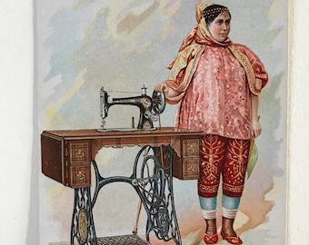 Wood providence RI Victorian business trade card hatter furrier men clothing paper ephemera
