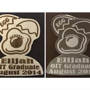 Tree Nut OIT Graduate Ornament Food Allergy OITWORKS Free Shipping Tree Nut Allergy Allergy Awareness