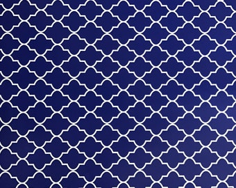 Blue pattern for Cricut and Silhouette (Quality 3m Vinyl)