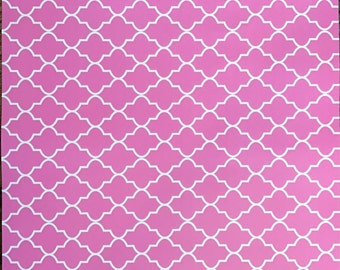 Pink vinyl pattern for Cricut and Silhouette (Quality 3m Vinyl)