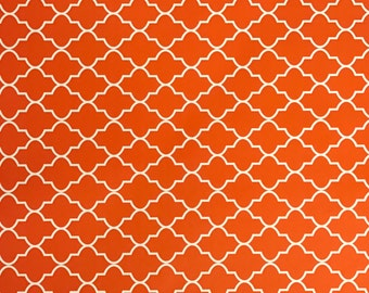 Orange pattern for Cricut and Silhouette (Quality 3m Vinyl)