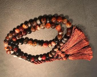 Aqiq Yamani (Agate) multi color - Rosary- Misbah-Tasbih- Islamic