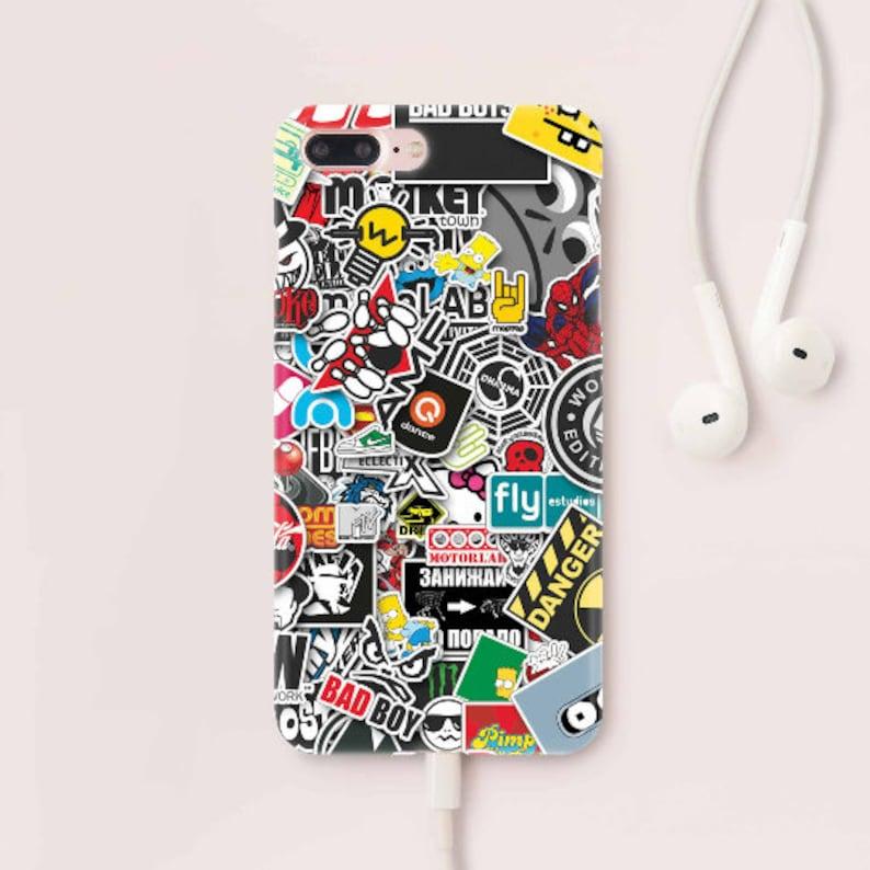iphone 7 sticker bomb case