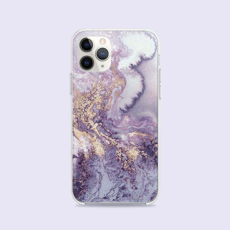Apple iPhone 11 Case iPhone 11 Pro Max Cases Blue Marble Gold Splashes iPhone Xs Max Phone Case iPhone Xr Cases Cute iPhone 8 X Case CC1640
