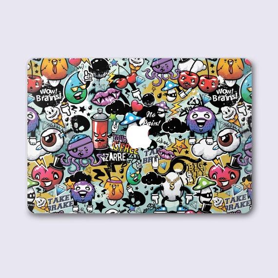 Sticker Bombing Art Macbook 11 Air 13 2018 Hard Case For New Mac Pro 13 15 2019