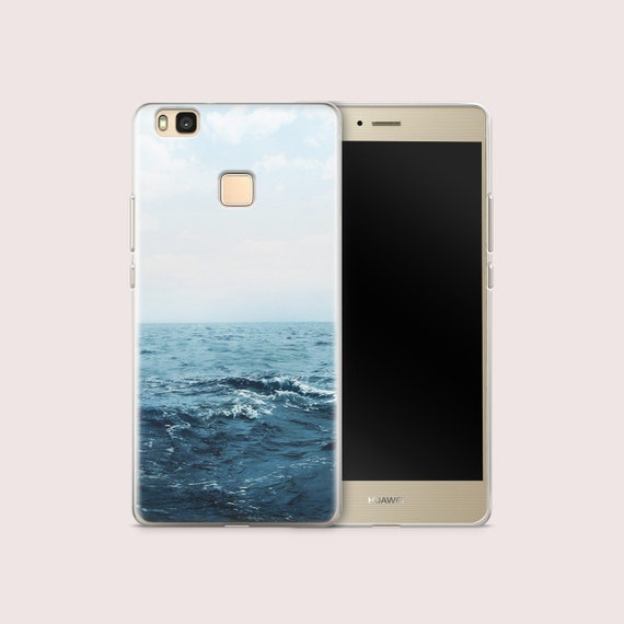 Sea Huawei P9 Case Huawei Y6 Pro Case Huawei Y7 Case Huawei P8 Lite Case  Ocean Huawei Nova Plus Cover Huawei Mate 10 Case Huawei P7 CC1001