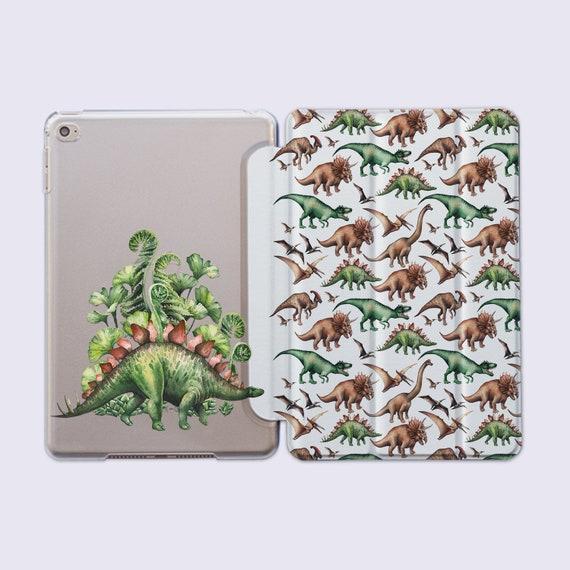 Stegosaurus iPad Case iPad Air Smart Cover pour iPad Pro 12,9 cas Dino impression iPad 9,7 2018 Smart Case iPad mini cas dinosaure tablette CC1387