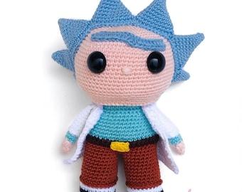Rick from Rick and Morty Crochet Pattern English/Dutch