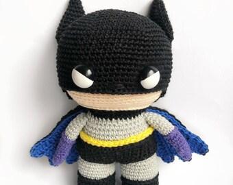 Batman Crochet pattern English/Dutch PDF
