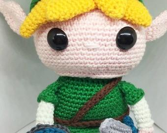 Link from the Legend of Zelda crochet pattern English/Dutch PDF Pattern