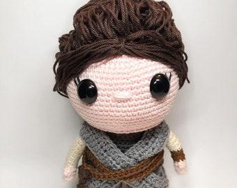 Rey // Star Wars Crochet Pattern English/Dutch PDF