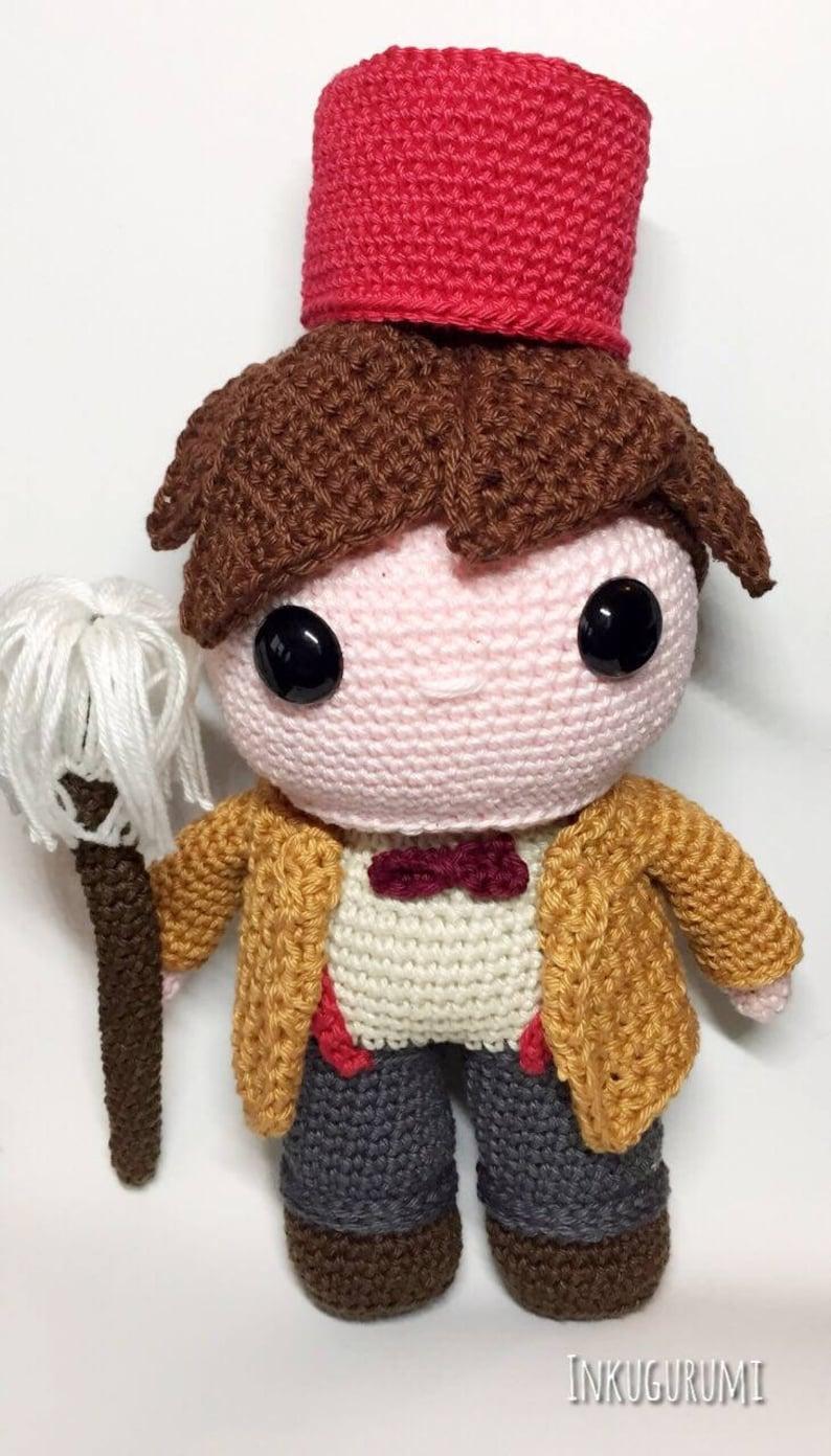 Doctor Who 11th Crochet Pattern English/Dutch image 0