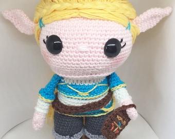 Princess Zelda BOTW crochet pattern English/Dutch