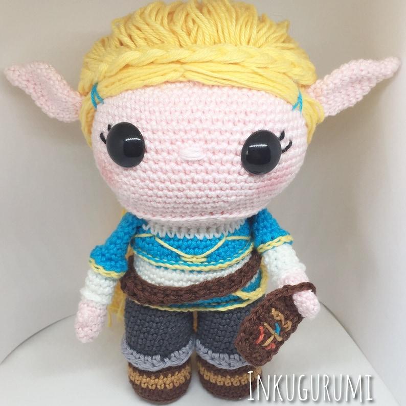 Princess Zelda BOTW crochet pattern English/Dutch image 0