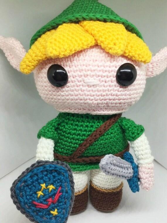 Link From The Legend Of Zelda Crochet Pattern Englishdutch Etsy