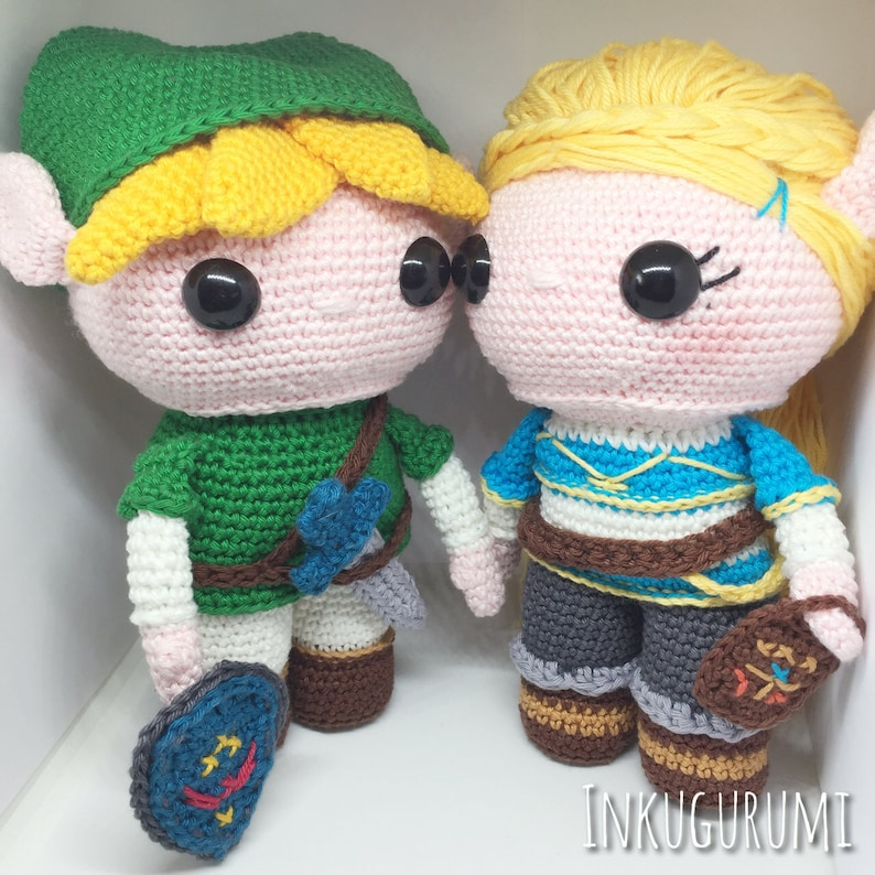 Link and Zelda Discount Package crochet patterns in image 0