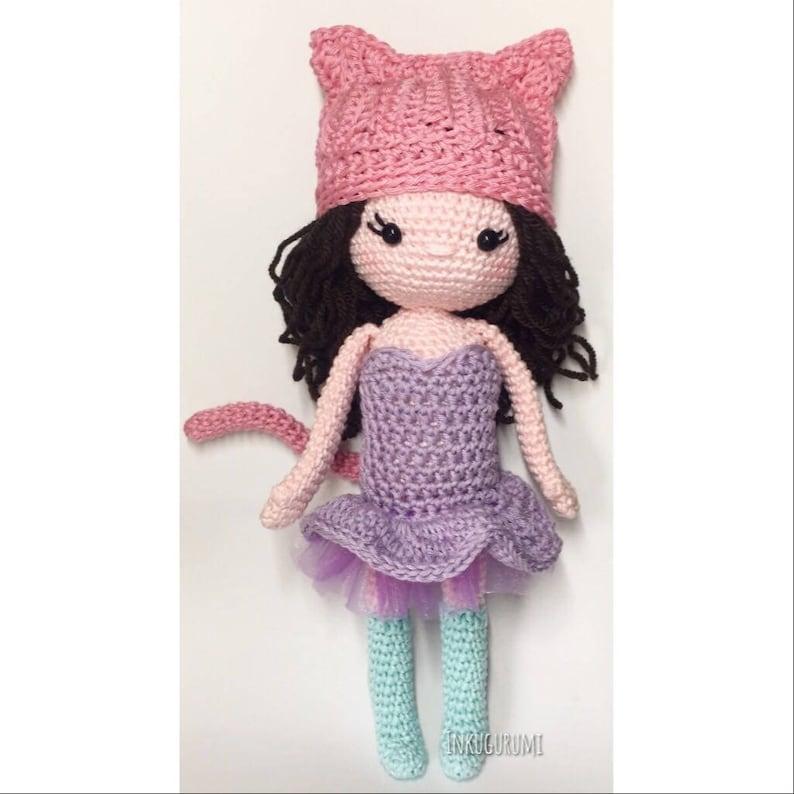 Inku the Kitty Crochet Pattern. English/Dutch image 0