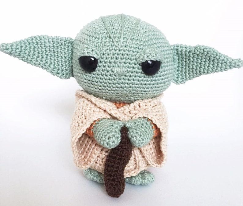 Yoda Crochet Pattern Dutch/English image 0