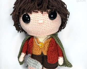 Frodo Baggins Lord of the Rings Crochet Pattern English/Dutch